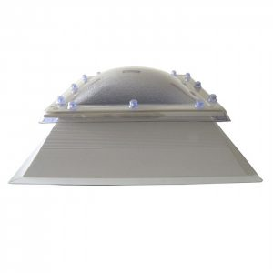 Polycarbonate Rooflight with uPVC Kerb